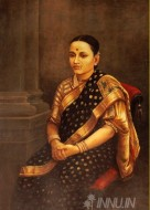 Fine art  - Lady of 1893 by Artist Raja Ravi Varma