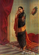 Fine art  - Vasantasena by ArtistRaja Ravi Varma