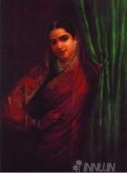 Fine art  - Maharashtrian Ladyby ArtistRaja Ravi Varma