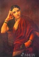 Fine art  - Maharashtrian Lady 2 by ArtistRaja Ravi Varma
