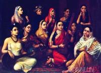 Fine art  - Galaxy of Musicians by ArtistRaja Ravi Varma
