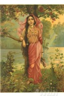 Fine art  - Vasantika by ArtistRaja Ravi Varma