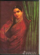 Fine art  - Maharashtrian Lady 3 by ArtistRaja Ravi Varma