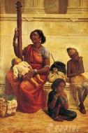 Fine art  - The Gypsies by ArtistRaja Ravi Varma