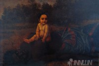Fine art  - Putana Moksha by ArtistRaja Ravi Varma
