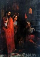Fine art  - Birth of Krishna by ArtistRaja Ravi Varma