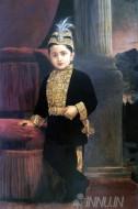 Fine art  - Prince Fateh singh rao by ArtistRaja Ravi Varma