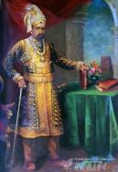 Fine art  - Dambadas Ramachandra Thondaiman Bahadur by ArtistRaja Ravi Varma