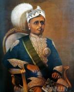 Fine art  - Maharaja Moolam Thirunal Rama Varma by ArtistRaja Ravi Varma