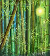Fine art  - Green Luminance by Artist Martin