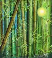 Fine art  - Green Luminance by ArtistMartin