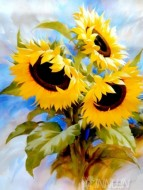 Fine art  - Sunflowers Dream by Artist Igor Levashov