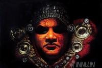 Fine art  - Theyyam Chamayamby Artist