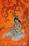 Fine art  - Child Krishna Mural
