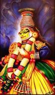 Fine art  - Krishnavesham Kathakaliby Artist