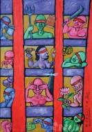 Fine art  - Indian blindness by ArtistMurali T