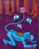 Fine art  - Glorified Slaveryby ArtistMurali T