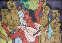 Fine art  - Channar Womanby ArtistMurali T
