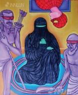 Fine art  - Lakshmanrekha by ArtistMurali T