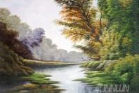 Fine art  - Solitude of a River 2