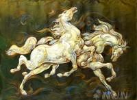 Fine art  - Pair of Horse by ArtistMartin