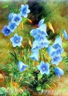 Fine art  - Blue Flowersby Artist