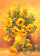 Fine art  - Sunflowersby ArtistFasani