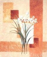 Fine art  - White Buds by Artist Karin Valk