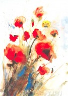 Fine art  - Poppy by Artist J Hammerle