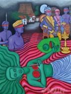 Fine art  - Nangeli