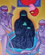 Fine art  - Lakshman Rekha by ArtistMurali T
