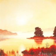 Fine art  - Misty Morning 1 by Artist