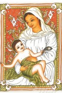 Fine art  - Mother Mary Mural