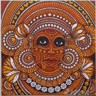 Fine art  - Theyyam Mural by Artist