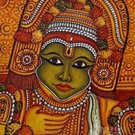 Fine art  - Ottam Thullal Muralby Artist