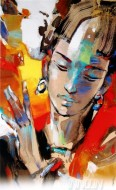 Fine art  - Abstract 1by ArtistNiladri Paul