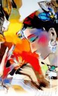Fine art  - Woman Dancing1by ArtistNiladri Paul