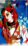 Fine art  - Woman Dancing2by ArtistNiladri Paul