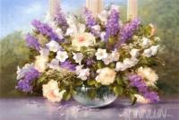 Fine art  - Summer Flowers by ArtistHeinz Scholnhammer