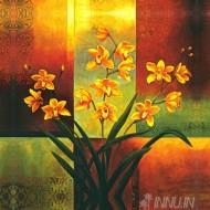 Fine art  - Orange Orchid by ArtistJill Deveraux
