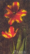 Fine art  - Decorative Tulips 2 by ArtistJhon Seba
