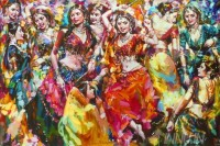 Fine art  - Dandiyaby ArtistSubrata Gangopadhyay