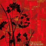 Fine art  - Silhouette On Red by ArtistErin Lange
