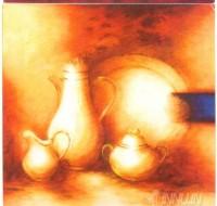 Fine art  - Crockery 2 by ArtistHans Paus