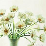 Fine art  - Bouquet Di Anemoni by ArtistEva Barberini