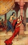 Fine art  - Ordeal of Qeen Draupadi by ArtistWarwick Golbe