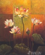 Fine art  - Lotus by Artist Jill Deveraux