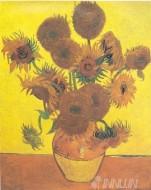 Fine art  - Tournesols by ArtistVincent Van Gogh