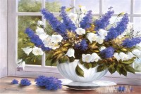 Fine art  - Lavender Flowers