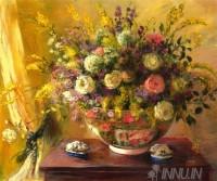 Fine art  - Vase of Roses